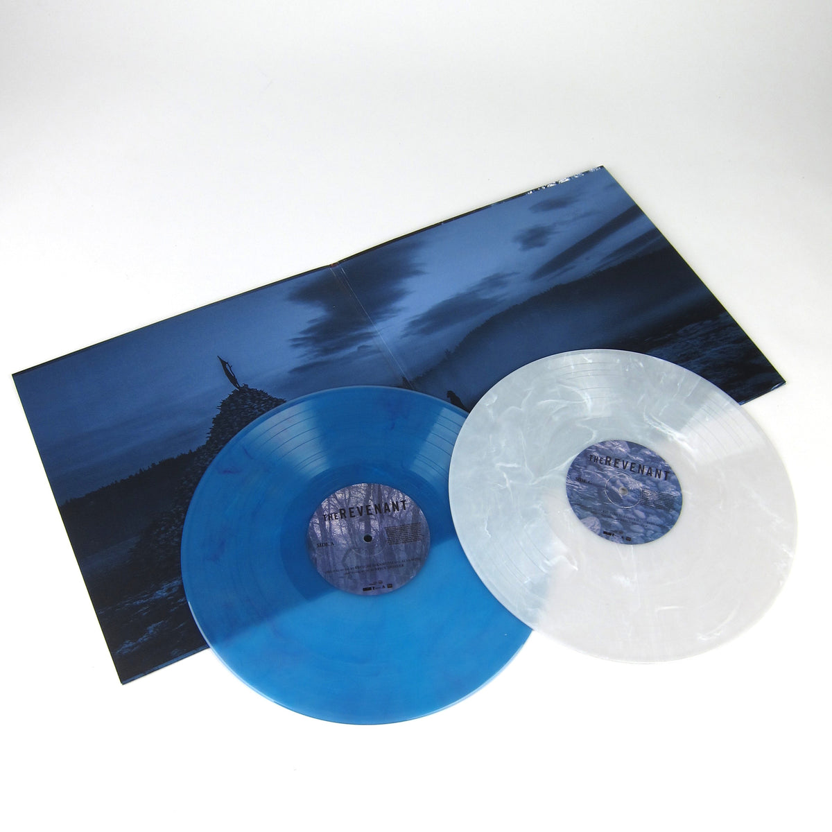 Ryuichi Sakamoto & Alva Noto: The Revenant Soundtrack (Colored Vinyl) Vinyl 2LP