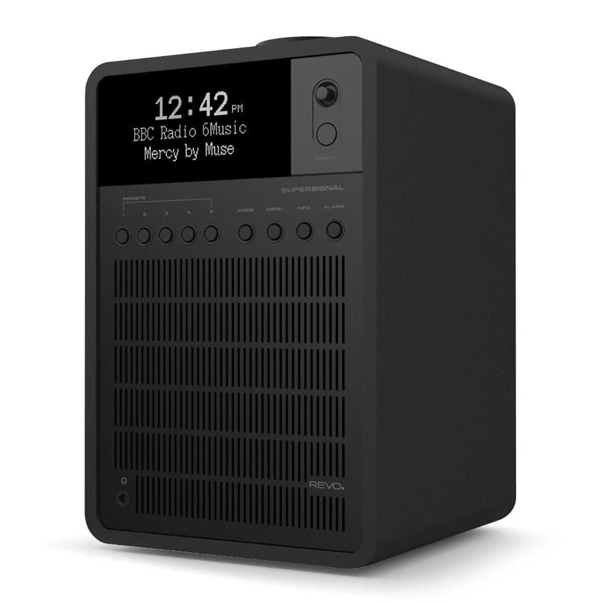 Revo: SuperSignal Radio / Connected Speaker - Shadow