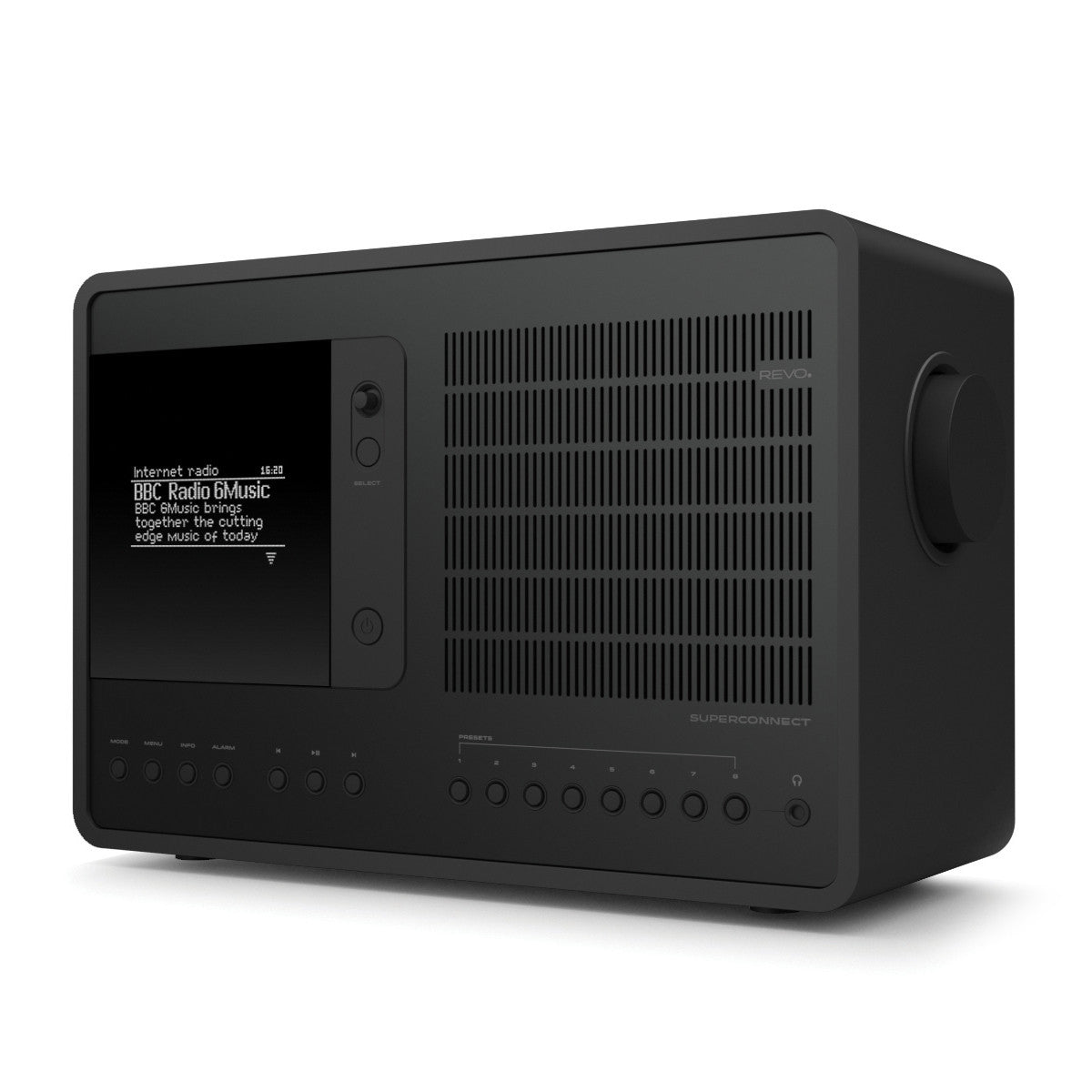 Revo: SuperConnect Radio / Connected Speaker - Shadow / All Black