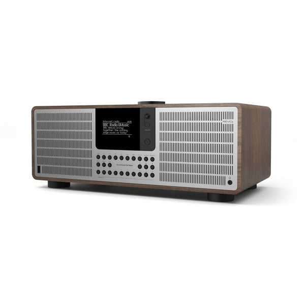 Revo: SuperSystem Radio / Connected Speaker - Walnut / Silver