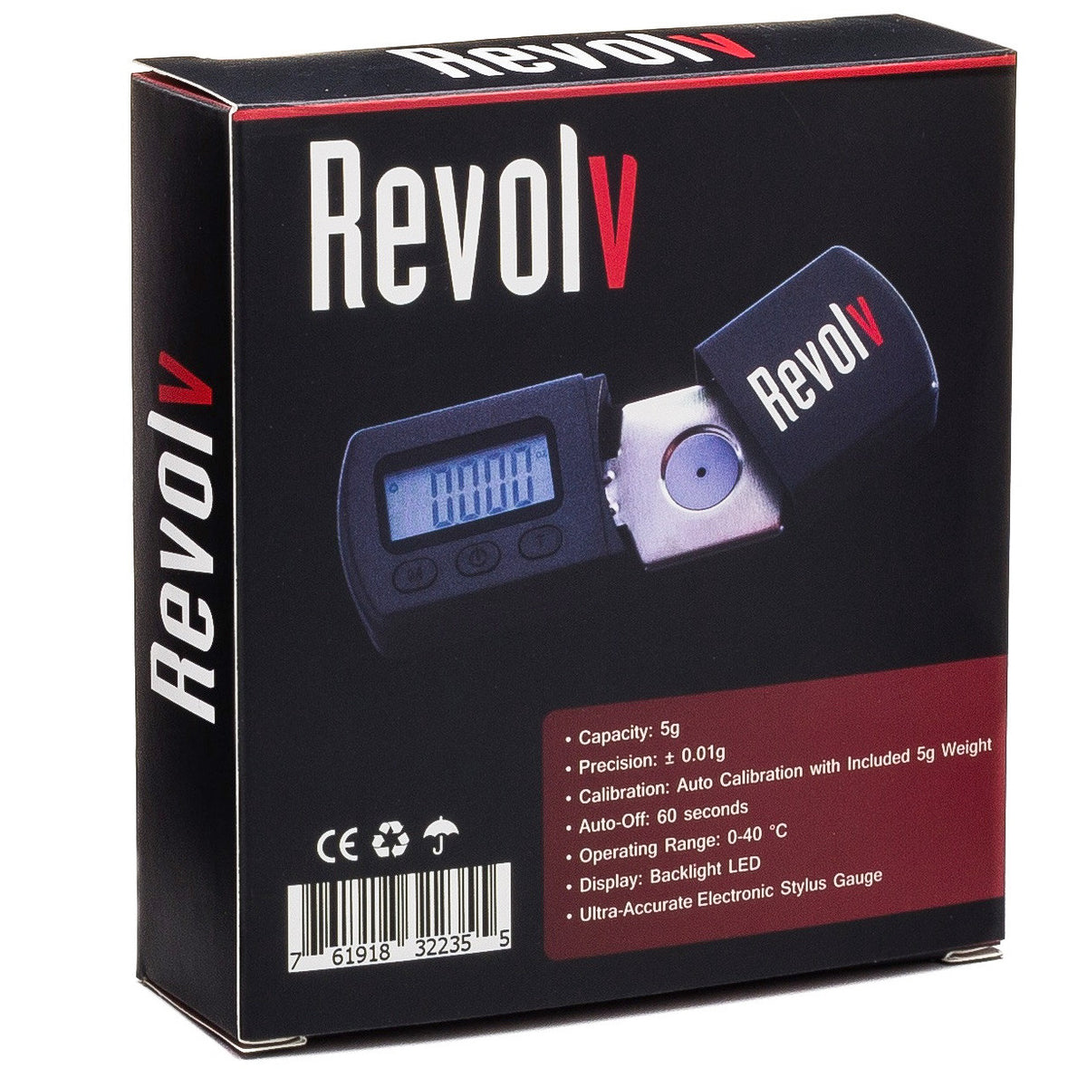 Revolv: Turntable Stylus Gauge Box