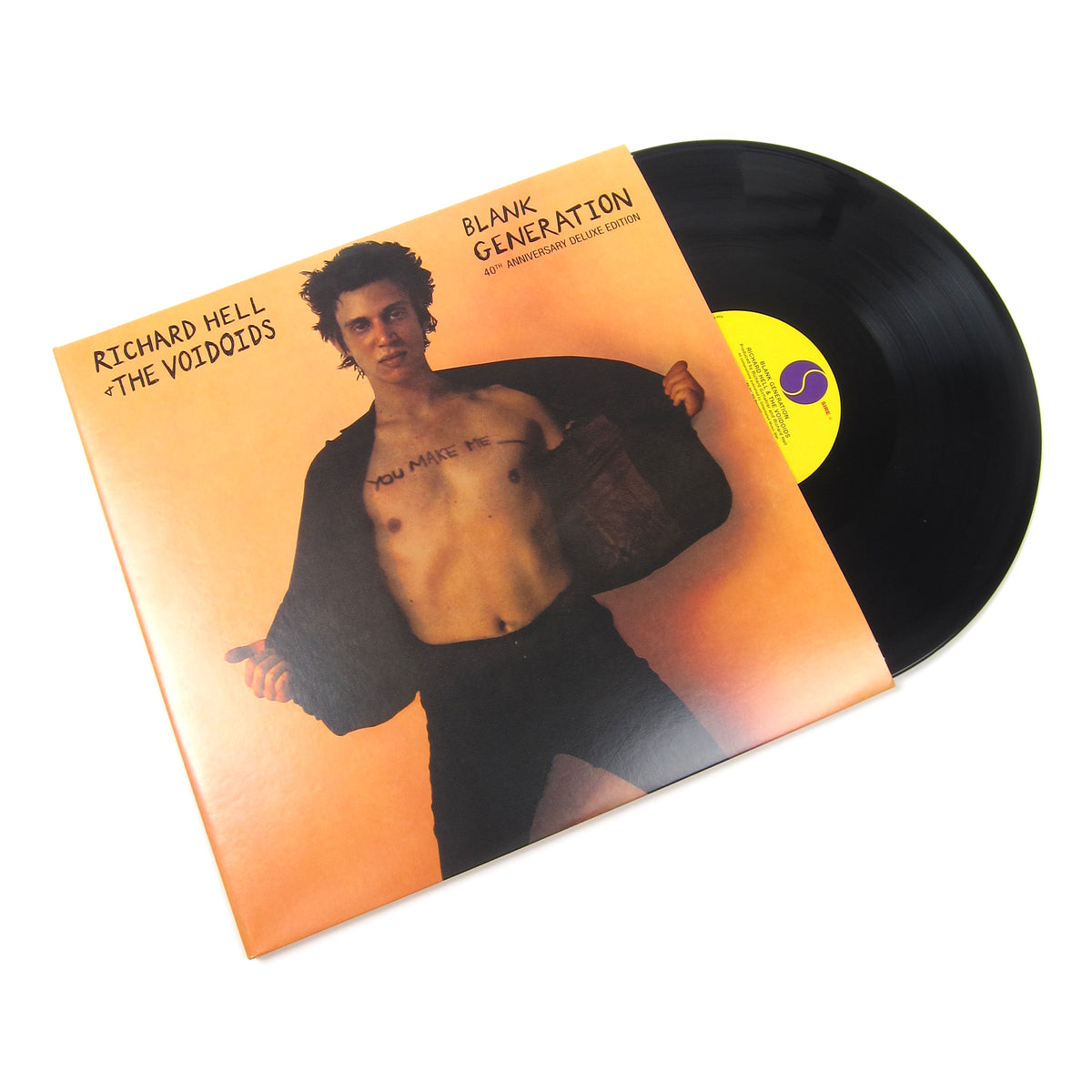Richard Hell & The Voidoids : Blank Generation 40th Anniversary Deluxe Edition Vinyl 2LP (Record Store Day)