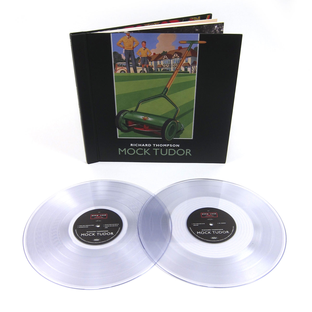 Richard Thompson: Mock Tudor (180g, Colored Vinyl) Vinyl 2LP Boxset