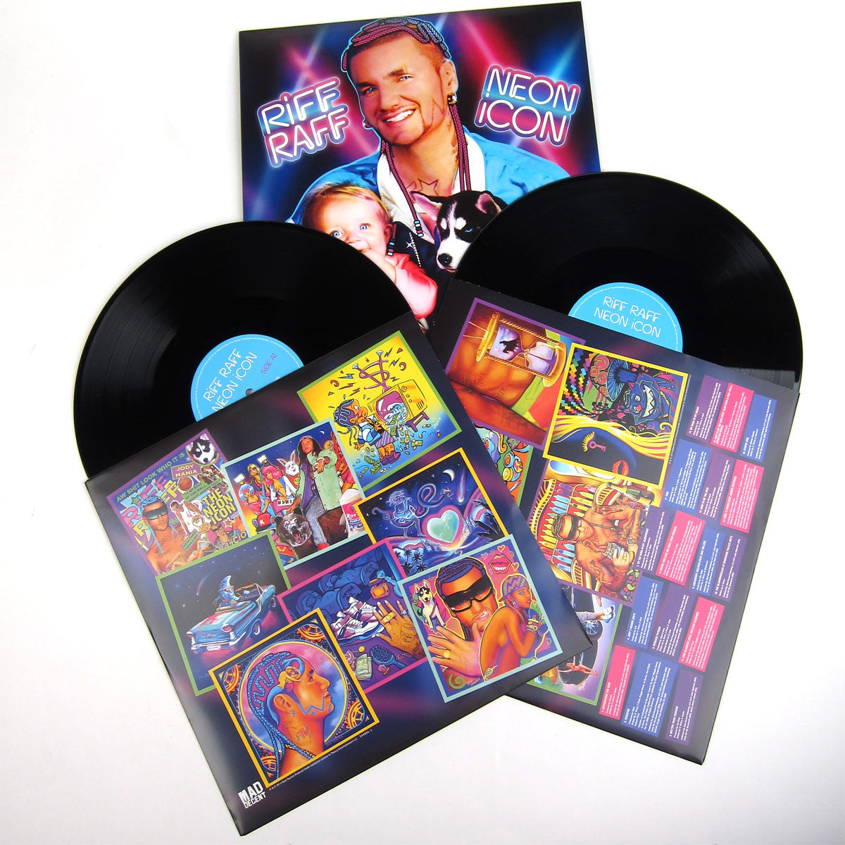 Riff Raff: Neon Icon (Free MP3) Vinyl 2LP detail