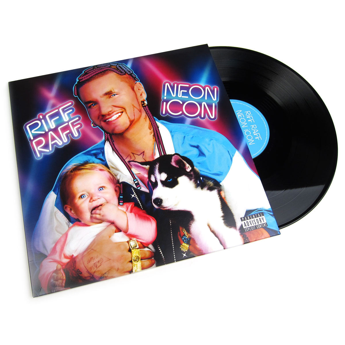 Riff Raff: Neon Icon (Free MP3) Vinyl 2LP