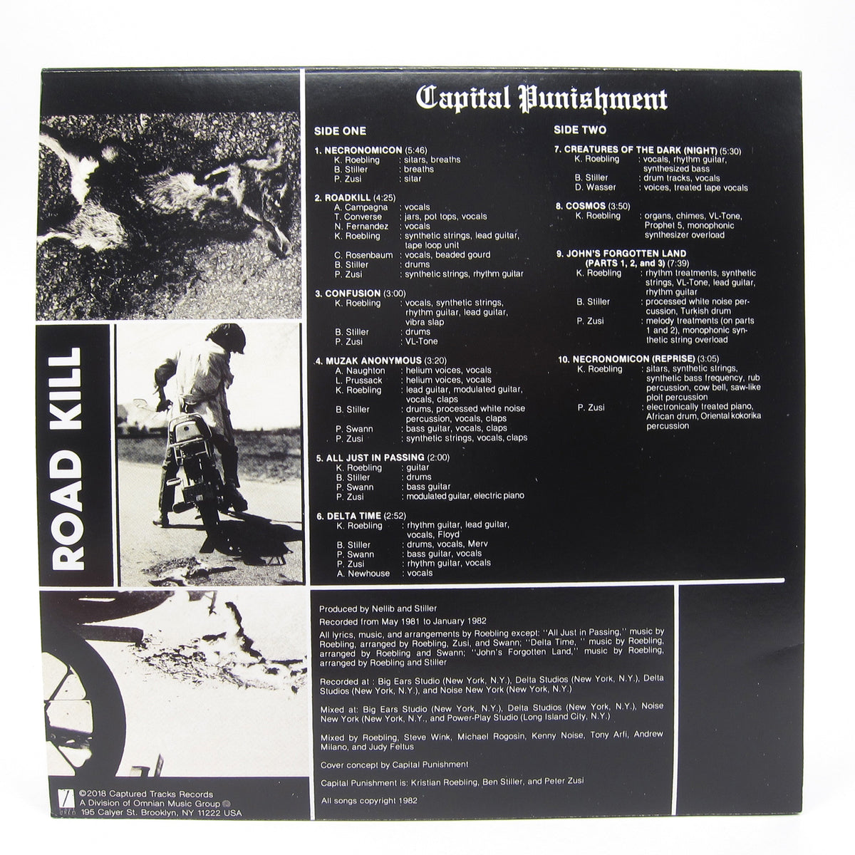 Capital Punishment: Roadkill (Colored Vinyl) Vinyl LP