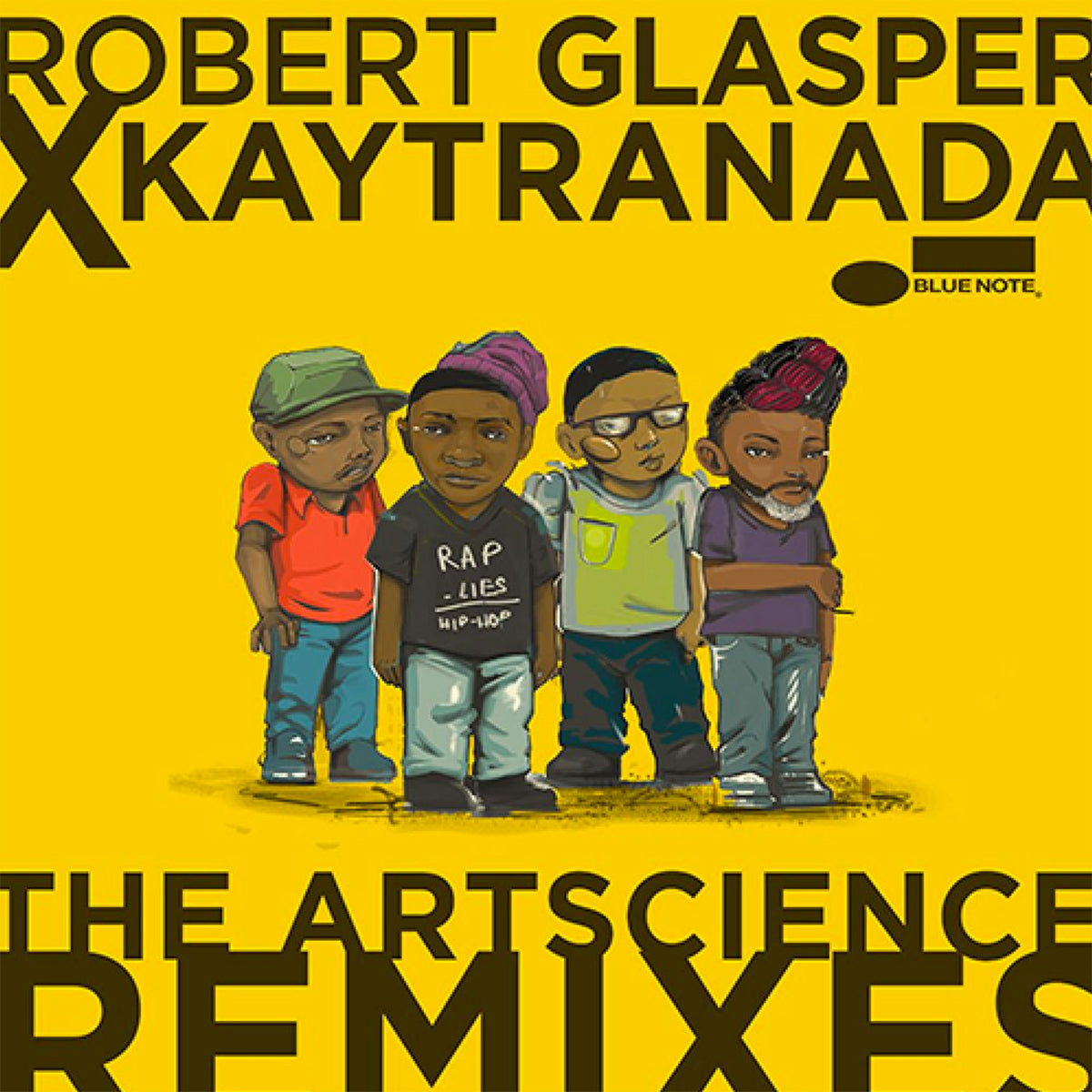 "Robert Glasper Experiment: Robert Glasper x KAYTRANADA: The ArtScience Remixes Vinyl 12"" (Record Store Day)"