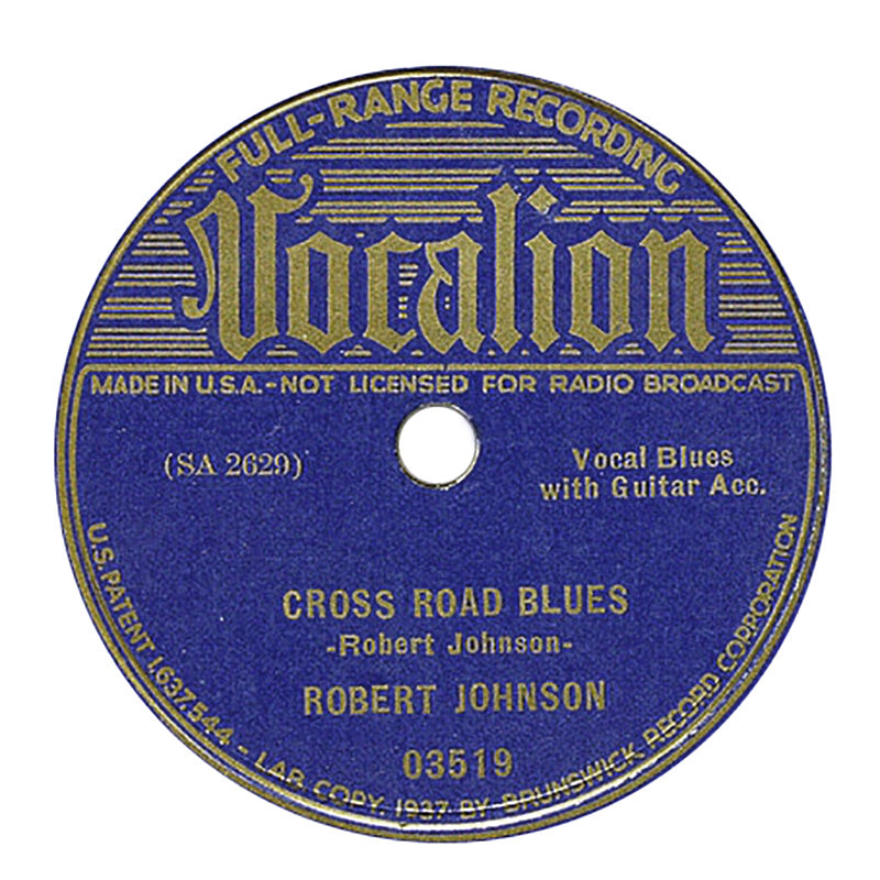 "Robert Johnson: Cross Road Blues / Ramblin' On My Mind Vinyl 10"" (Record Store Day)"