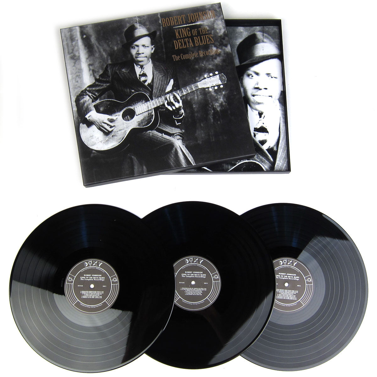 Robert Johnson: King Of The Delta Blues - The Complete Recording Vinyl 3LP Boxset
