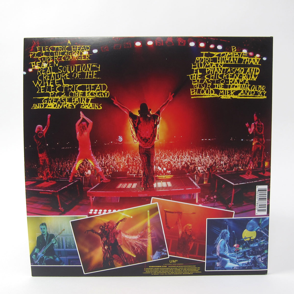 Rob Zombie: Astro-Creep - 2000 Live Vinyl LP
