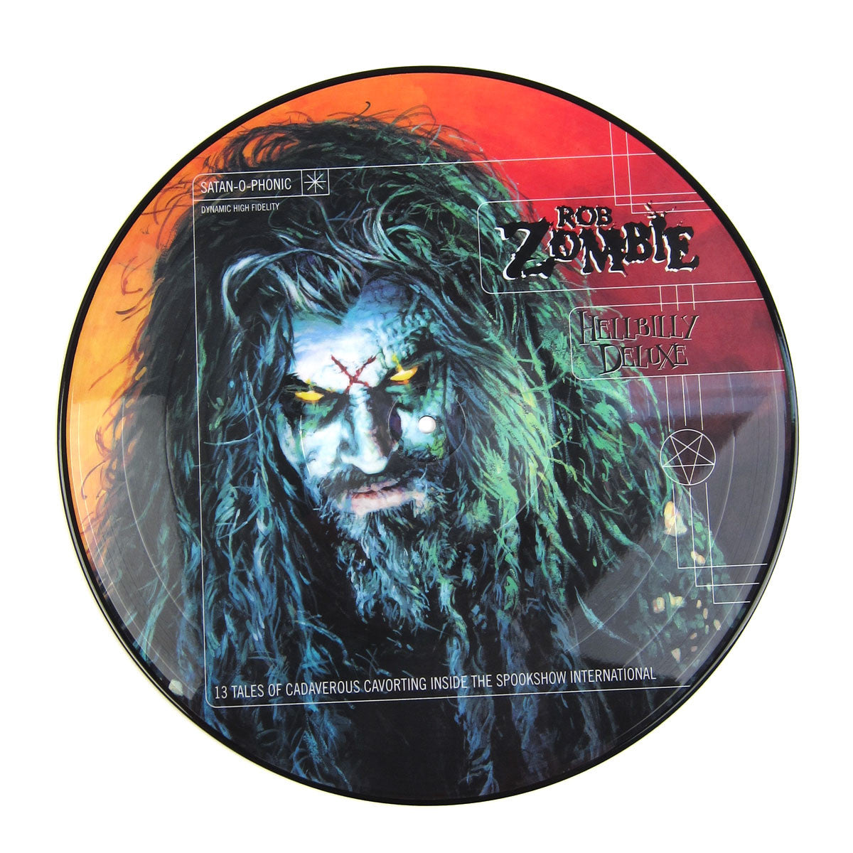 Rob Zombie: Hellbilly Deluxe Limited Edition Picture Disc Vinyl LP detail