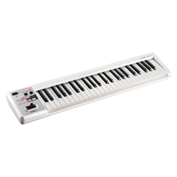 Roland: A-49 MIDI Keyboard Controller - White (A-49-WH)