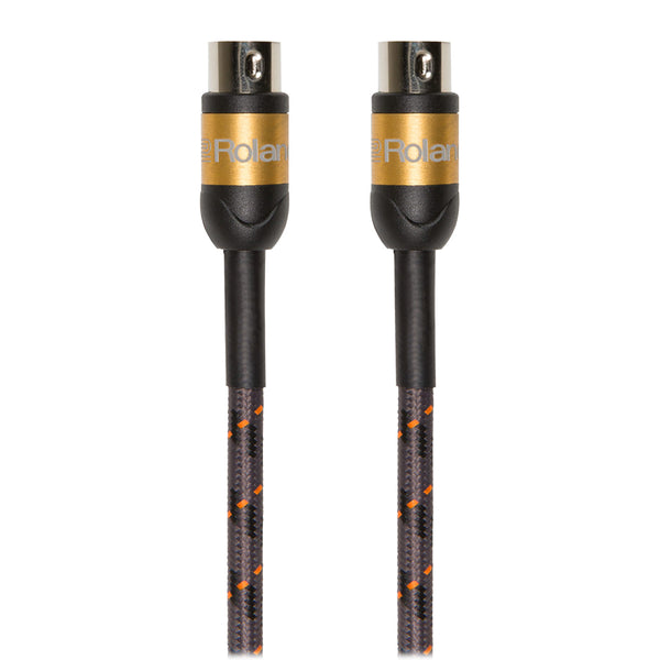 Roland: Gold Series MIDI Cable - 15 ft. (RMIDI-G15)