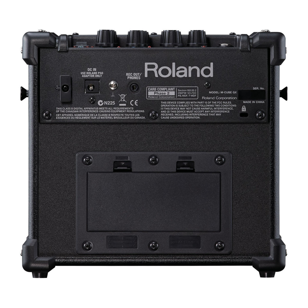 Roland: Micro Cube GX 3-Watt Black Battery Powered Guitar Amp