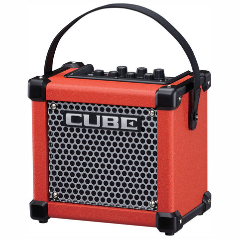 Roland: Micro Cube GX 3-Watt Battery Powered Guitar Amp - Red (M-Cube-GXR)