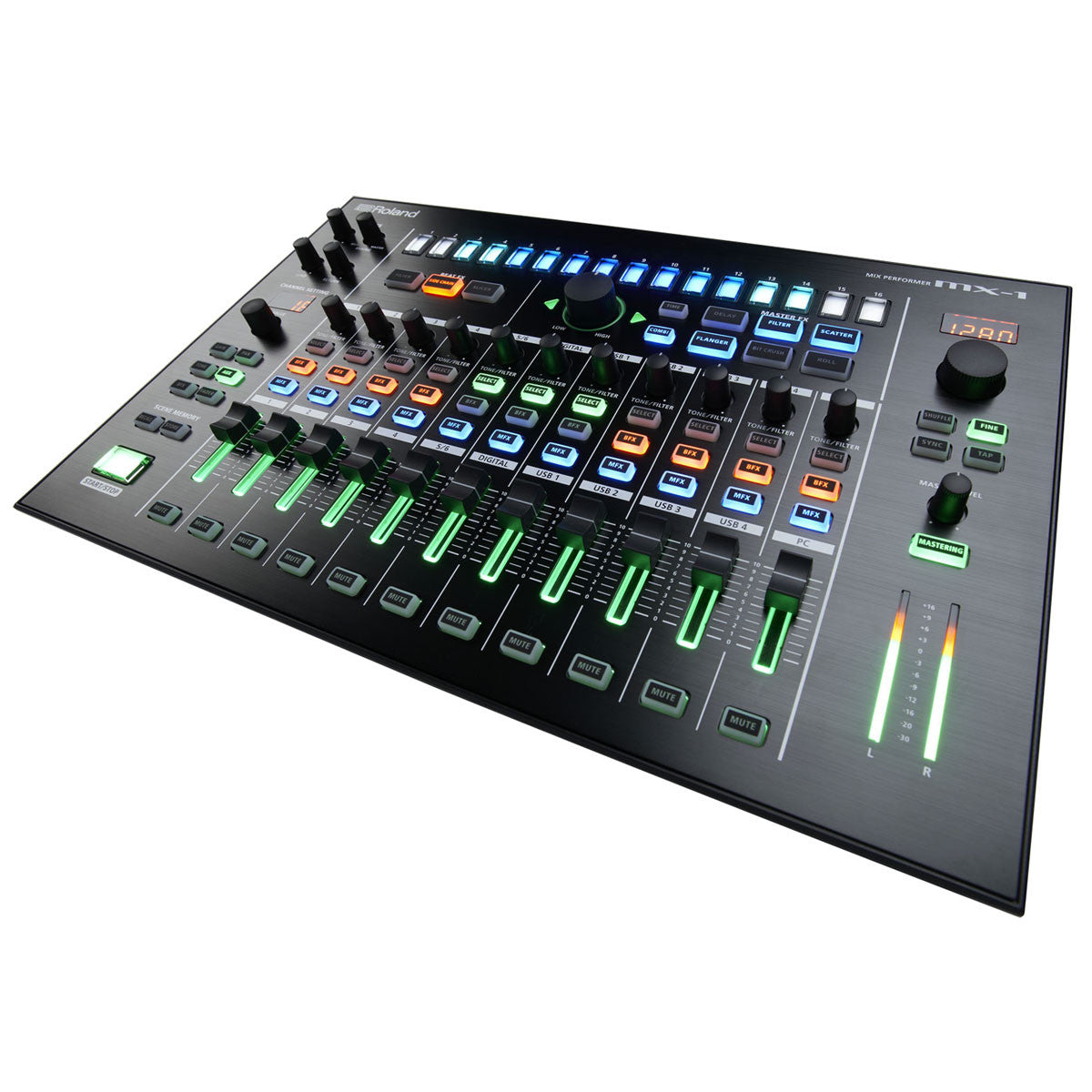 Roland: Aira MX-1 Mix Performer angle