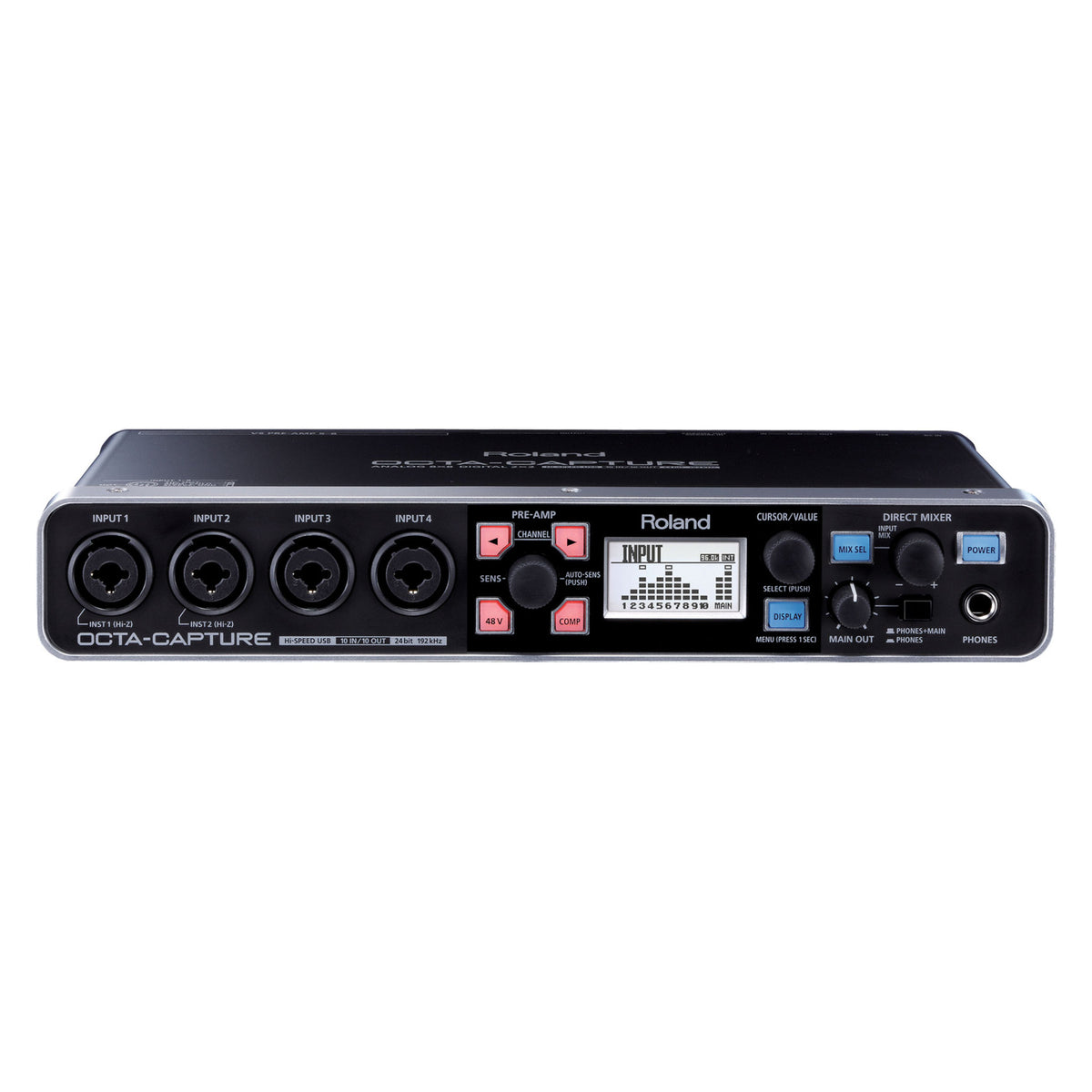 Roland: Octa-Capture Hi-Speed USB Audio Interface (UA-1010)