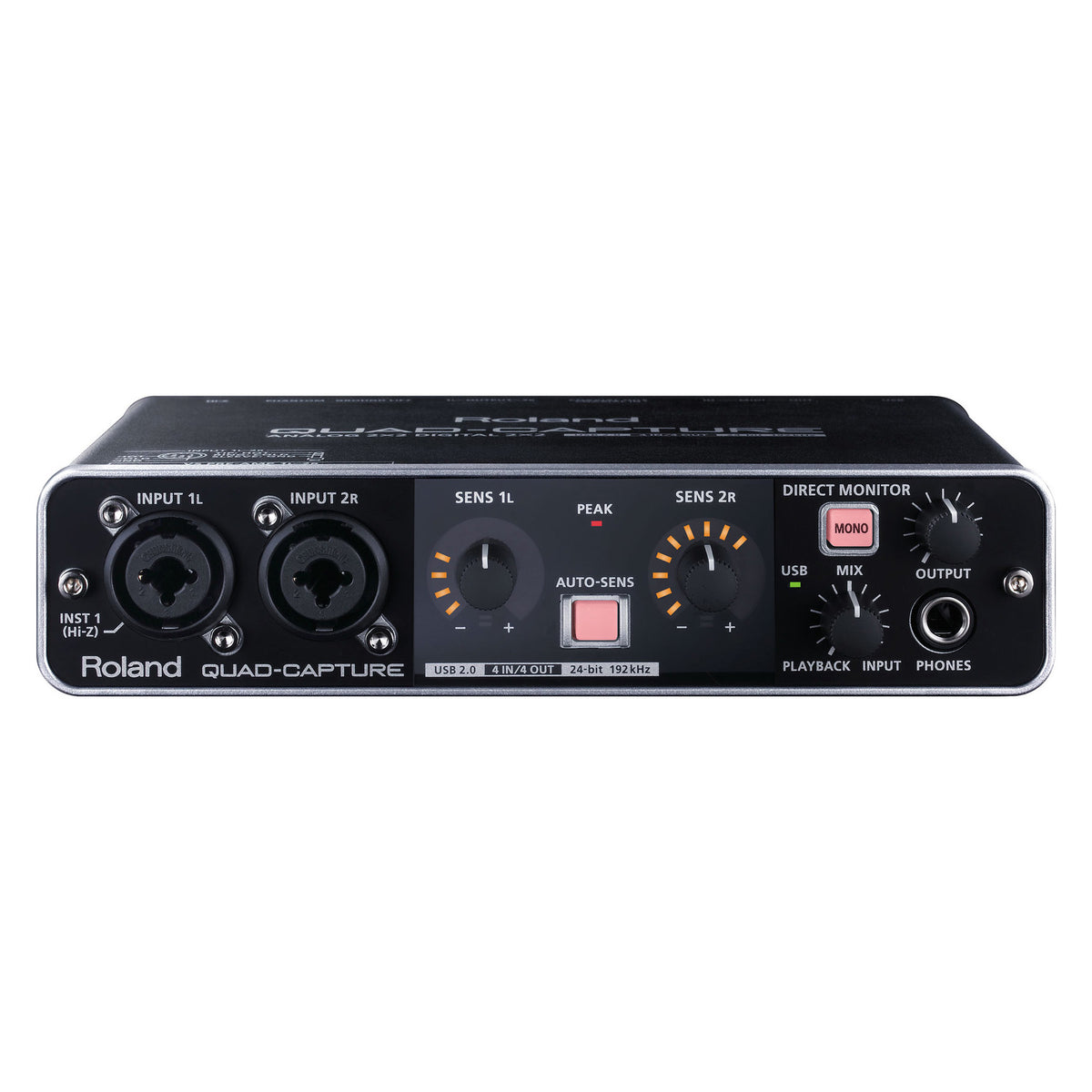 Roland: Quad-Capture USB 2.0 Audio Interface (UA-55)