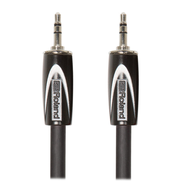 "Roland: Black Series Cable - 1/8"" TRS / 5 ft. (RCC-5-3535)"