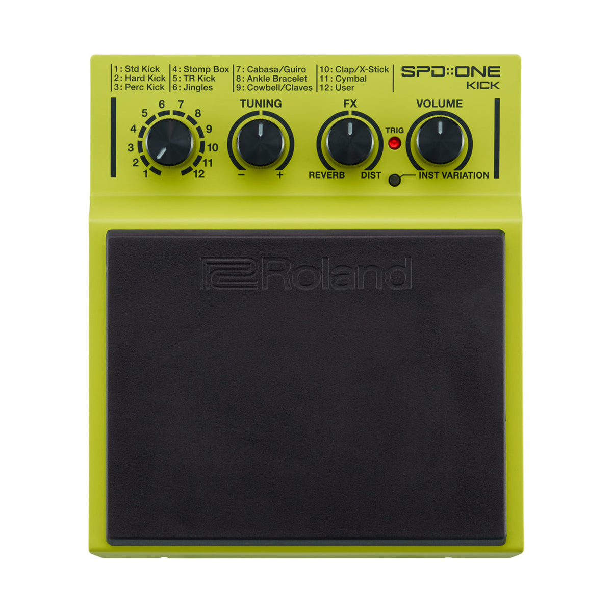 Roland: SPD-ONE KICK Percussion Pad (SPD-1K)