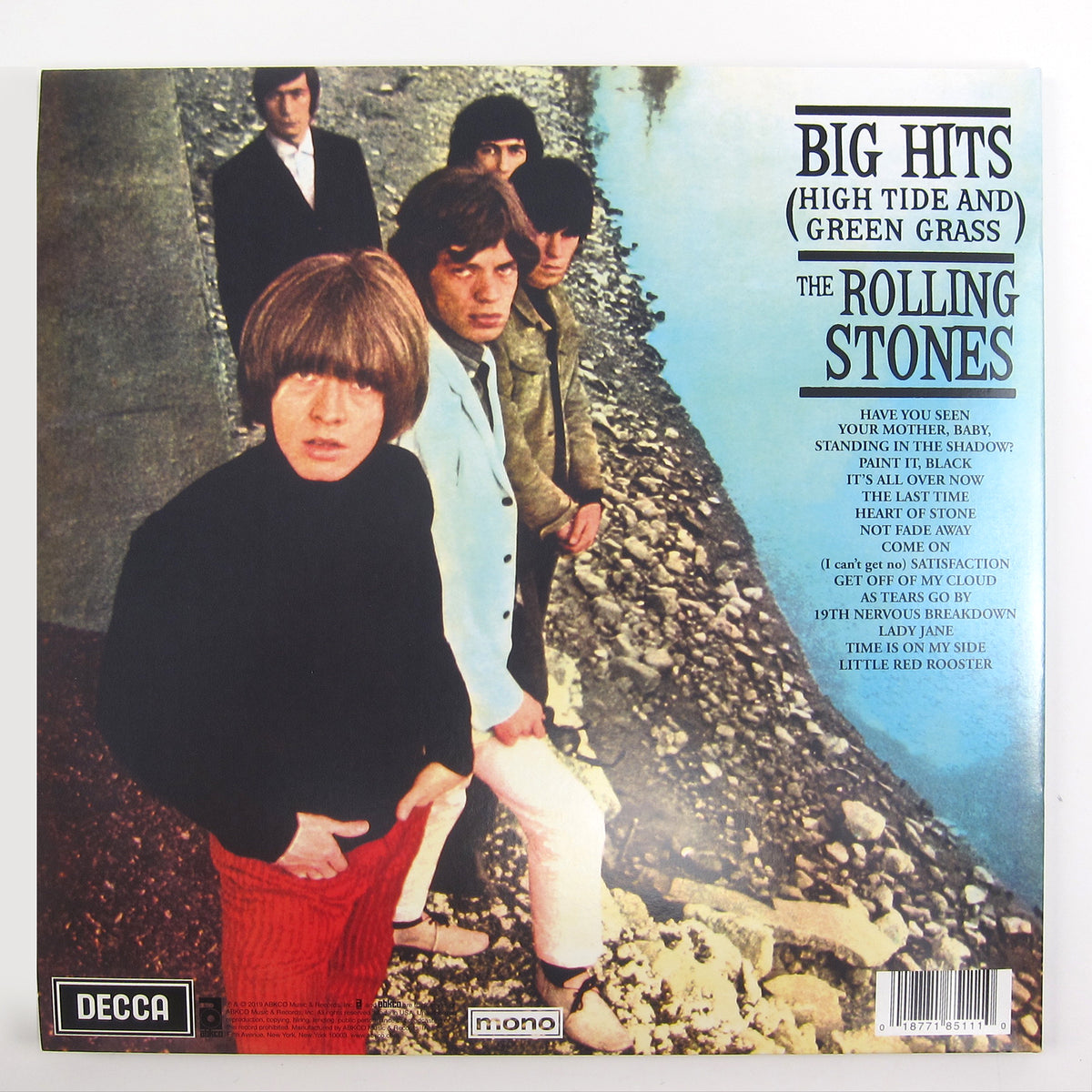 The Rolling Stones: Big Hits - High Tides And Green Grass (180g, Colored Vinyl) Vinyl LP (Record Store Day)