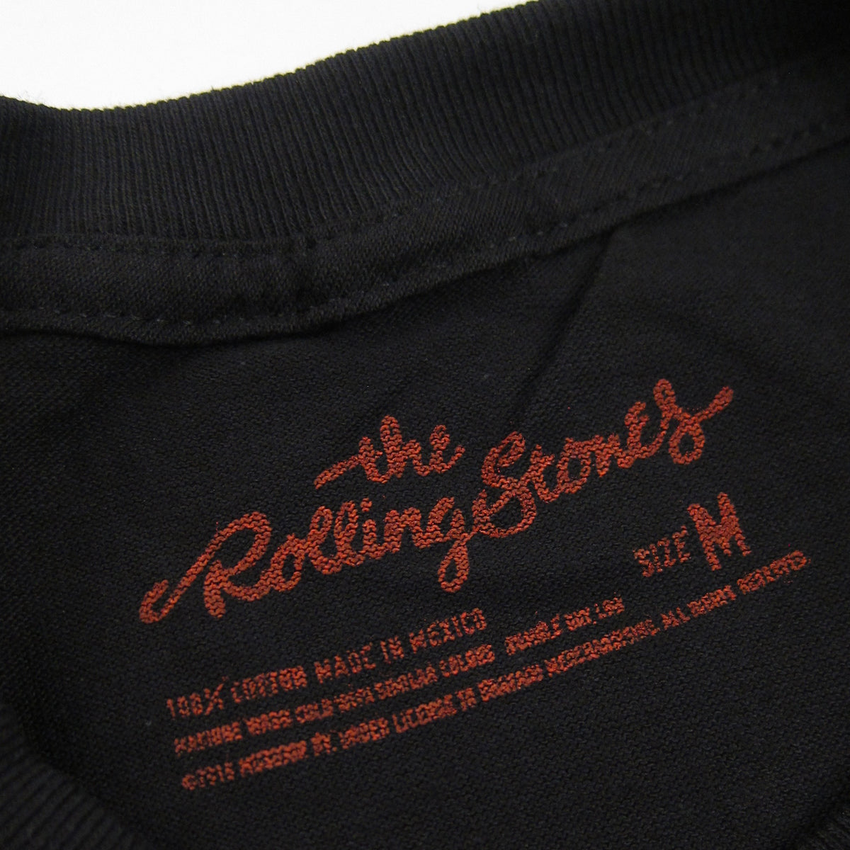 The Rolling Stones: Exile Faded Shirt - Black