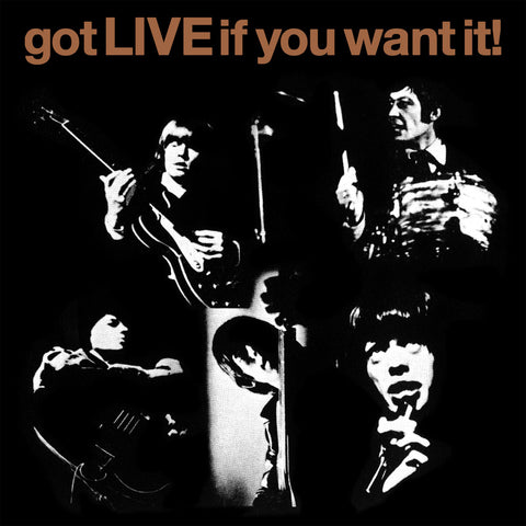 "The Rolling Stones: Got Live If You Want It 7"" (Record Store Day)"