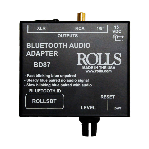 Rolls: BD87 Bluetooth Audio Adapter