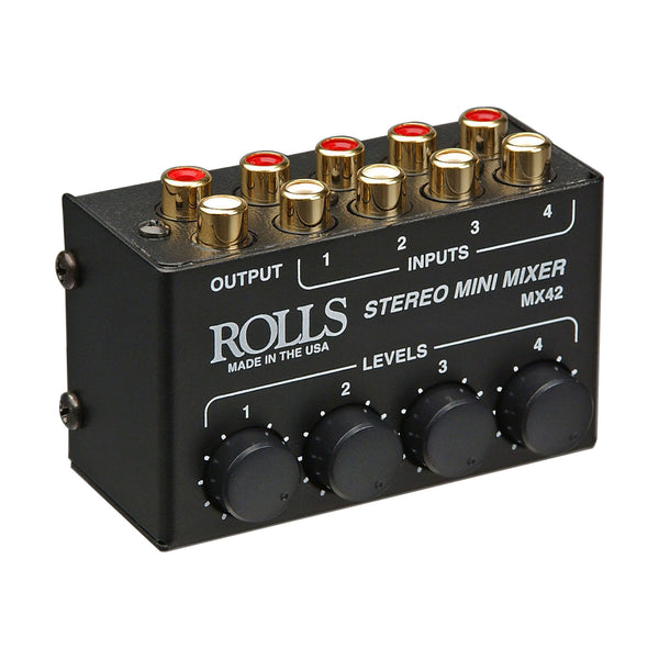 Rolls: MX42 Stereo Mini Mixer