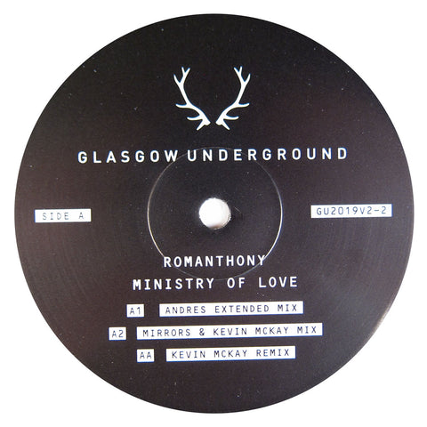 Romanthony: Ministry Of Love V2 (Andres) 12""