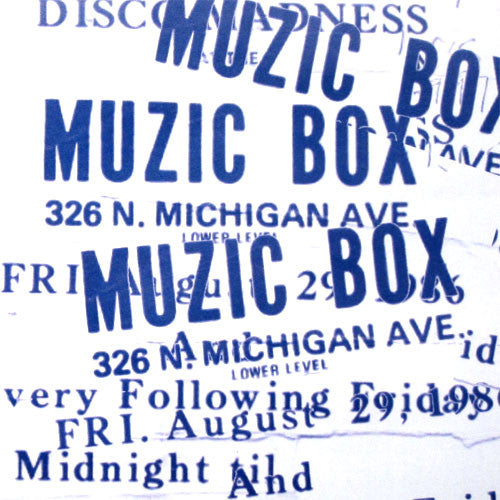 Ron Hardy: Muzic Box Classics #2 CD