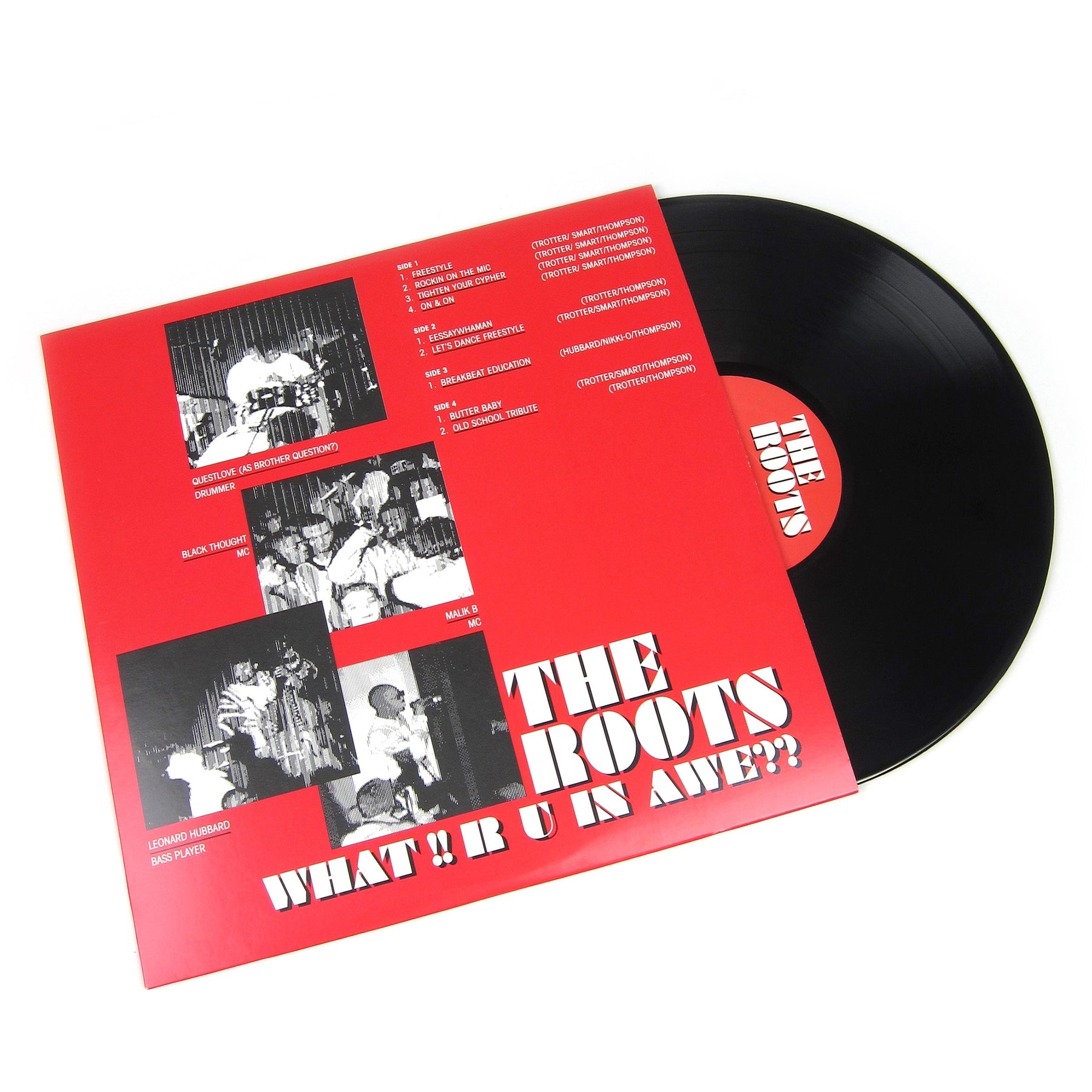 The Roots What R U In Awe Live 1992 Vinyl 2lp