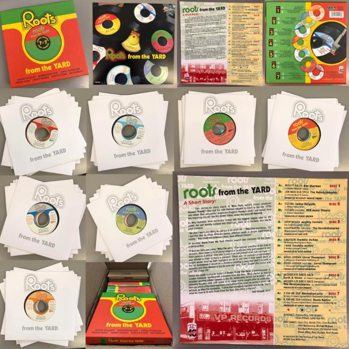"VP Records: Roots From The Yard Vinyl 7x7"" (Record Store Day)"