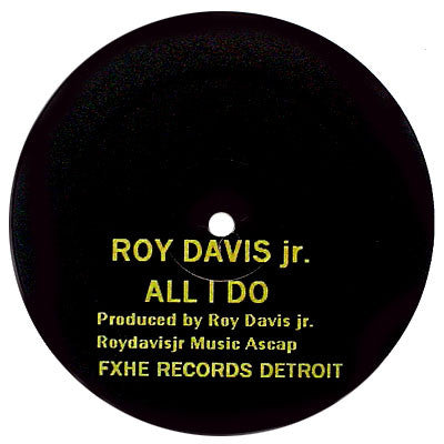 Roy Davis Jr. / Omar-S: All I Do / Da-Teys (Stevie Wonder) 12""