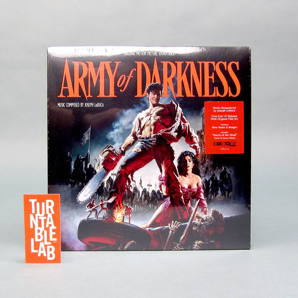 Joseph LoDuca: Army of Darkness Soundtrack Vinyl 2LP (Record Store Day)