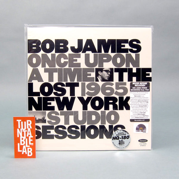 Bob James: Once Upon A Time - The Lost 1965 New York Studio Sessions Vinyl LP (Record Store Day)
