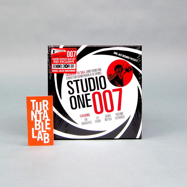 "Soul Jazz Records: Studio One 007 - Licensed To Ska! James Bond & Other Film Soundtracks & TV Themes Vinyl 5x7"" Boxset (Record Store Day)"