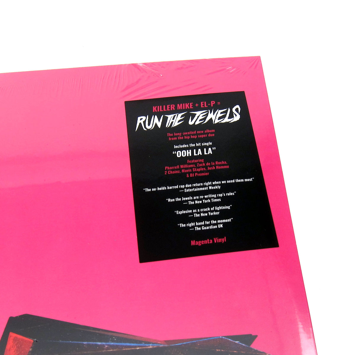 Run The Jewels: RTJ4 (Neon Magenta Colored Vinyl