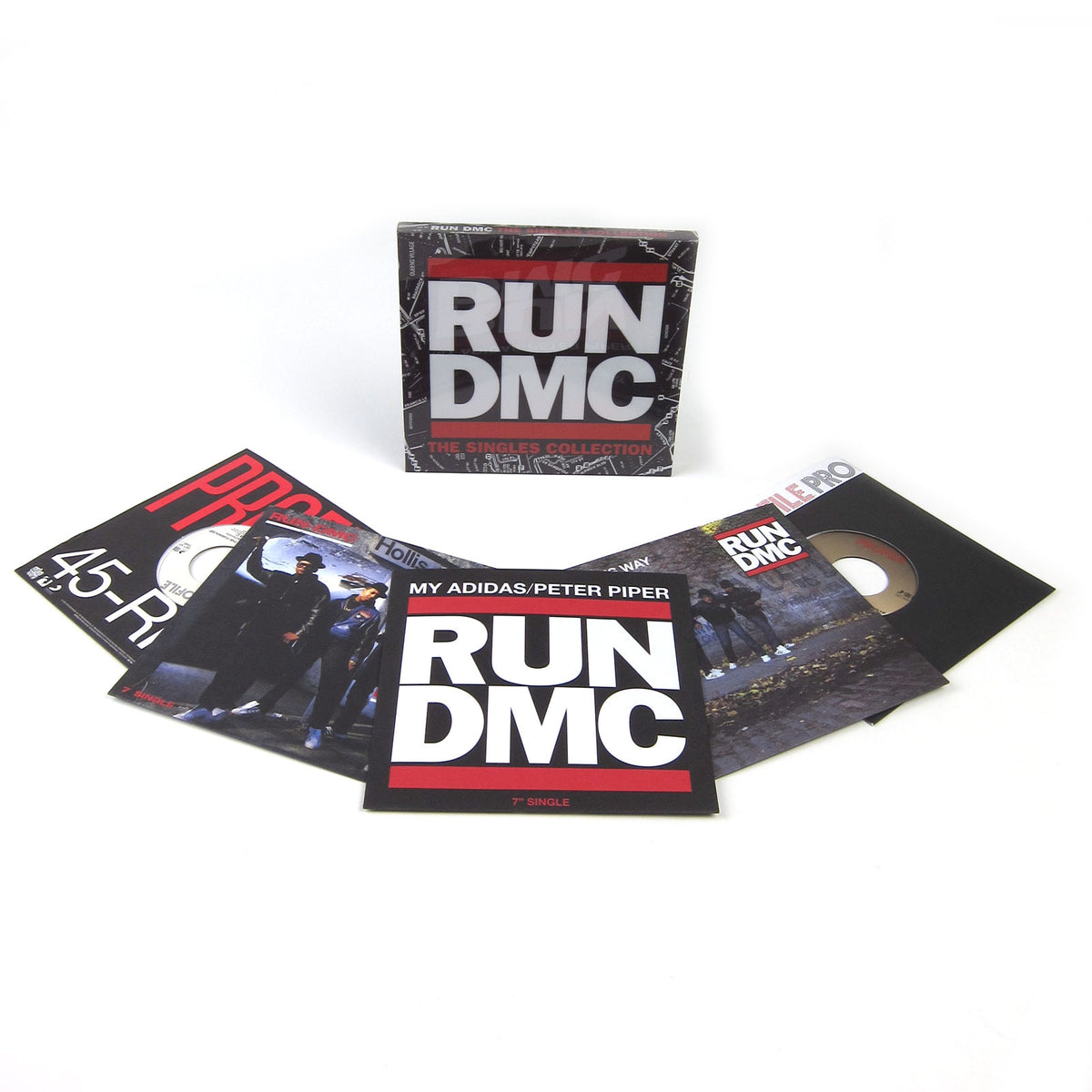 "Run-DMC: Singles Collection 5x7"" Vinyl Boxset (Record Store Day)"