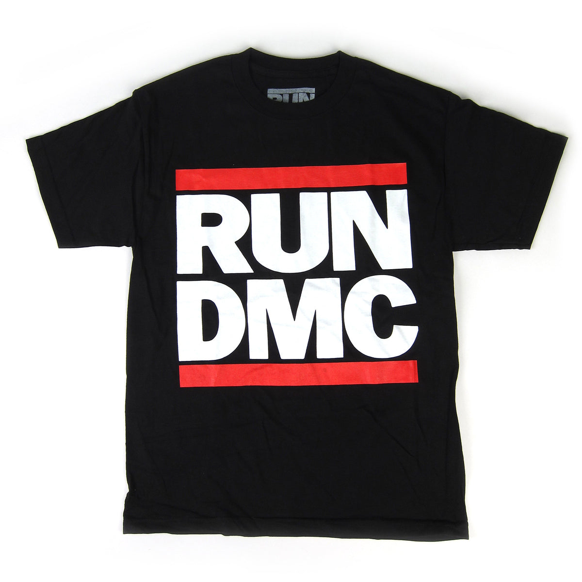 Run DMC: Logo Shirt - Black