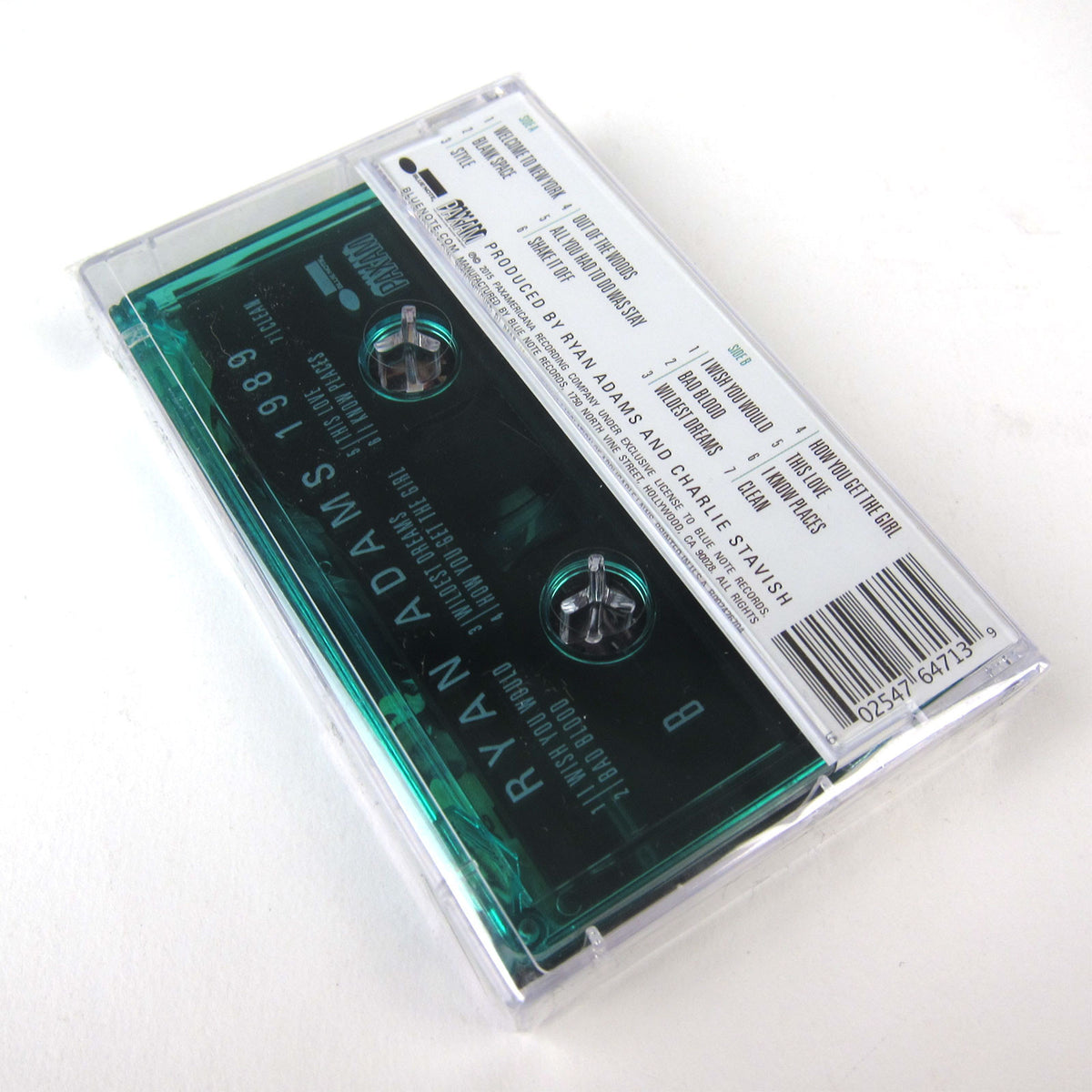 Ryan Adams: 1989 Cassette Tape