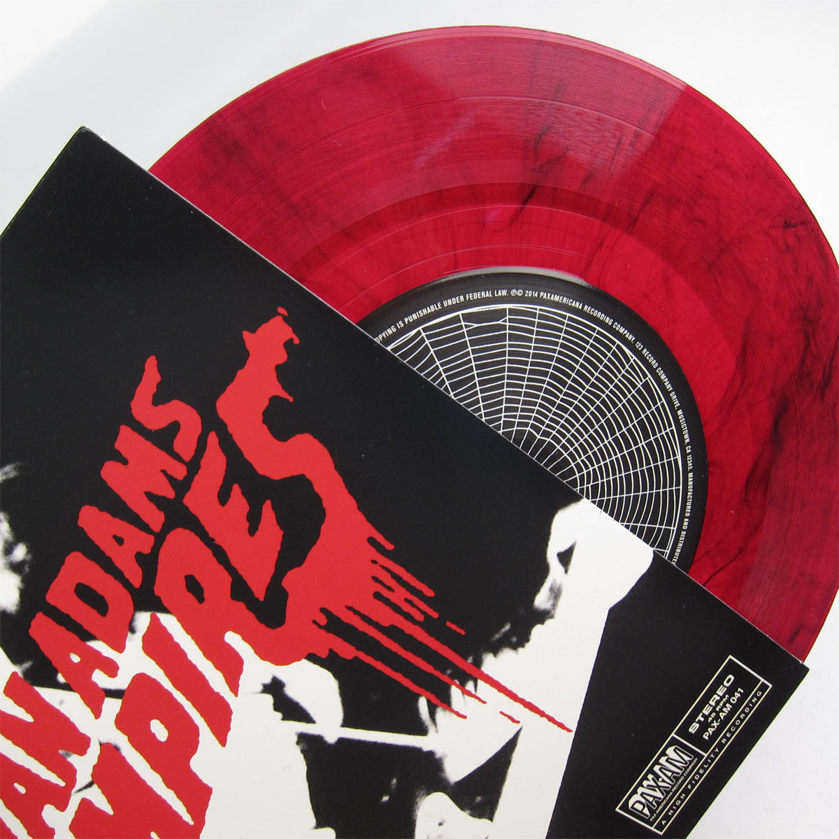 "Ryan Adams: Vampires (Limited Edition) Vinyl 7"" detail"