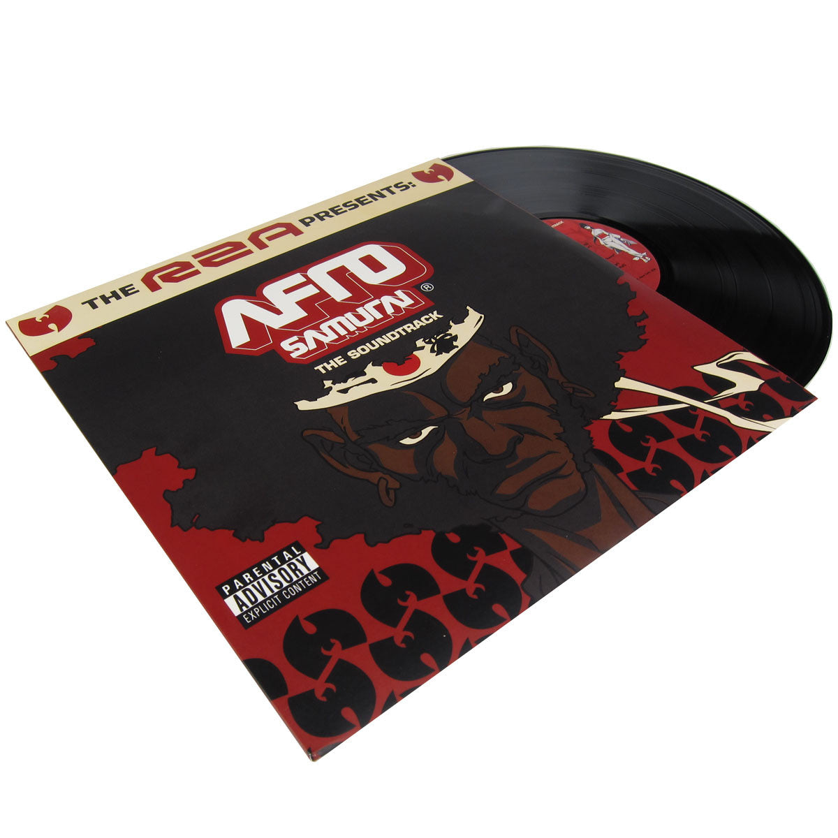 RZA: Afro Samurai The Soundtrack (Q-Tip, Talib Kweli) Vinyl 2LP
