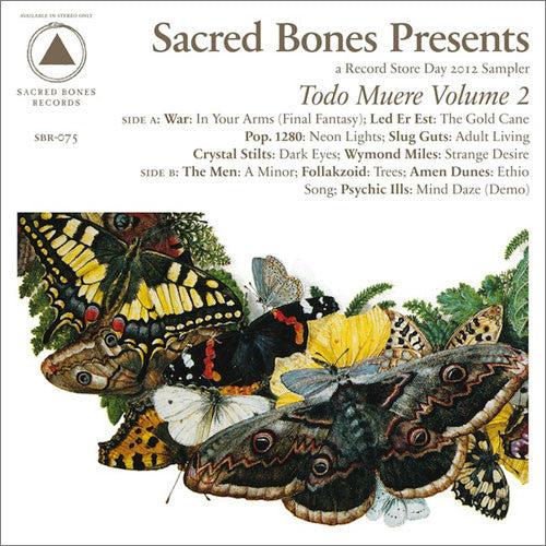 Sacred Bones: Sacred Bones Presents: Todo Muere Vol. 2 (Record Store Day) LP