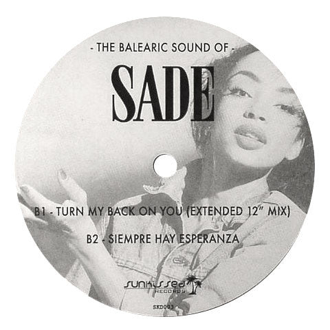 Sade: The Balearic Sound Of Sade Vinyl 12""