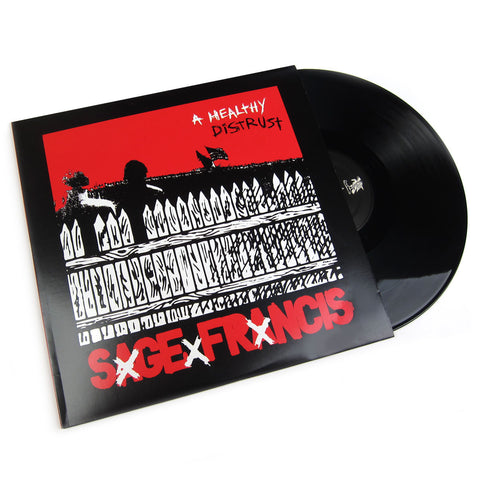 Sage Francis: A Healthy Distrust Vinyl 2LP