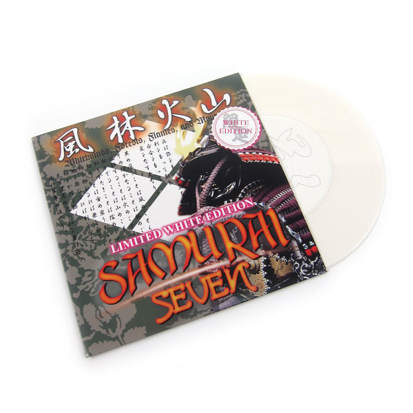 DJ $hin: Samurai Seven (White Colored Vinyl) Vinyl 7""