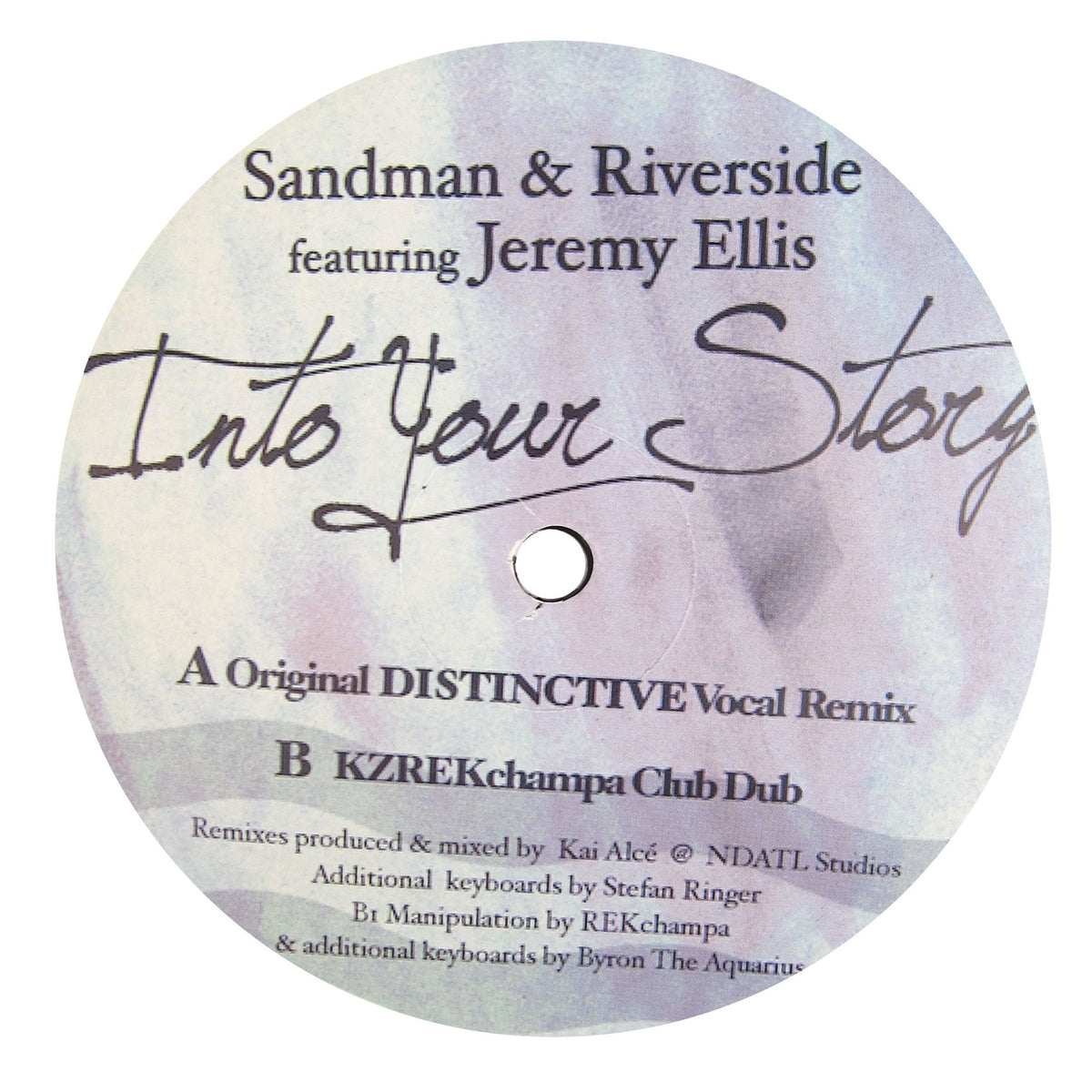 Sandman & Riverside: Into Your Story (Jeremy Ellis, Kai Alce) Vinyl 12""