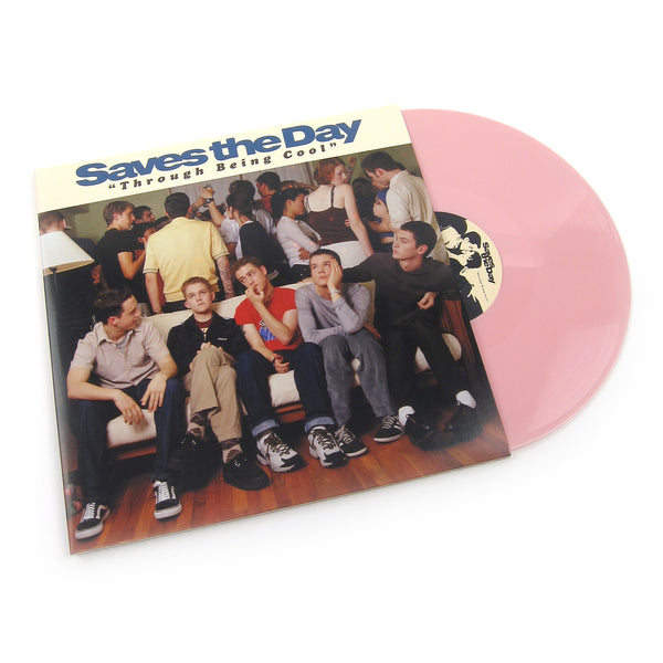 Saves The Day: Through Being Cool (Pink Colored Vinyl) Vinyl 2LP
