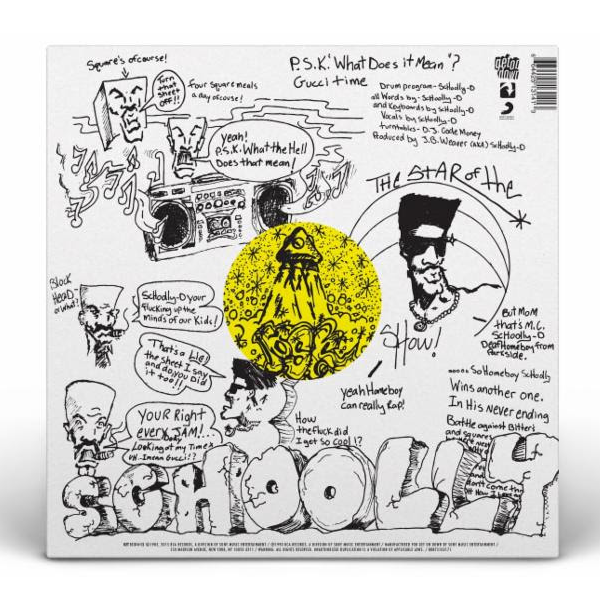 "Schooly-D: P.S.K. (Colored Vinyl) Vinyl 7"" (Record Store Day)"